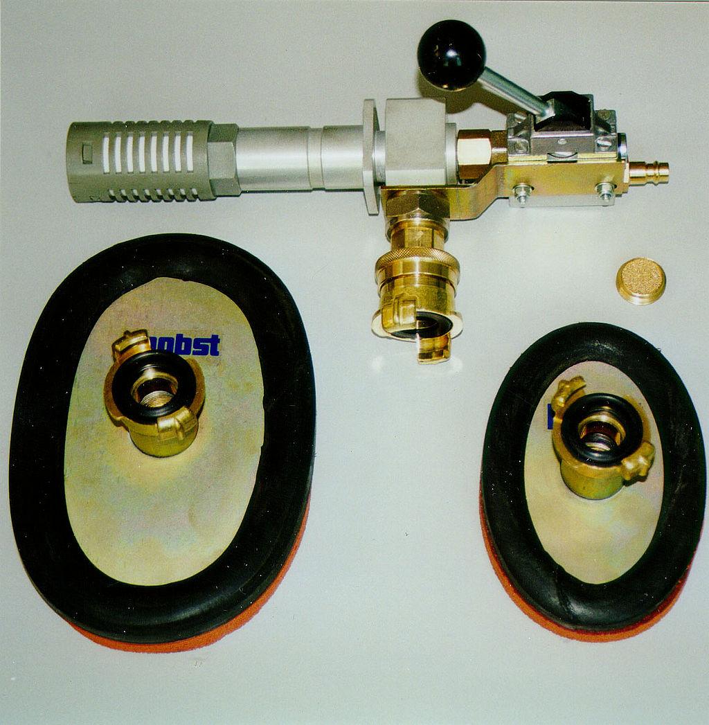 Dispozitiv cu aer comprimat Vacuum-Airspeed VAS-H