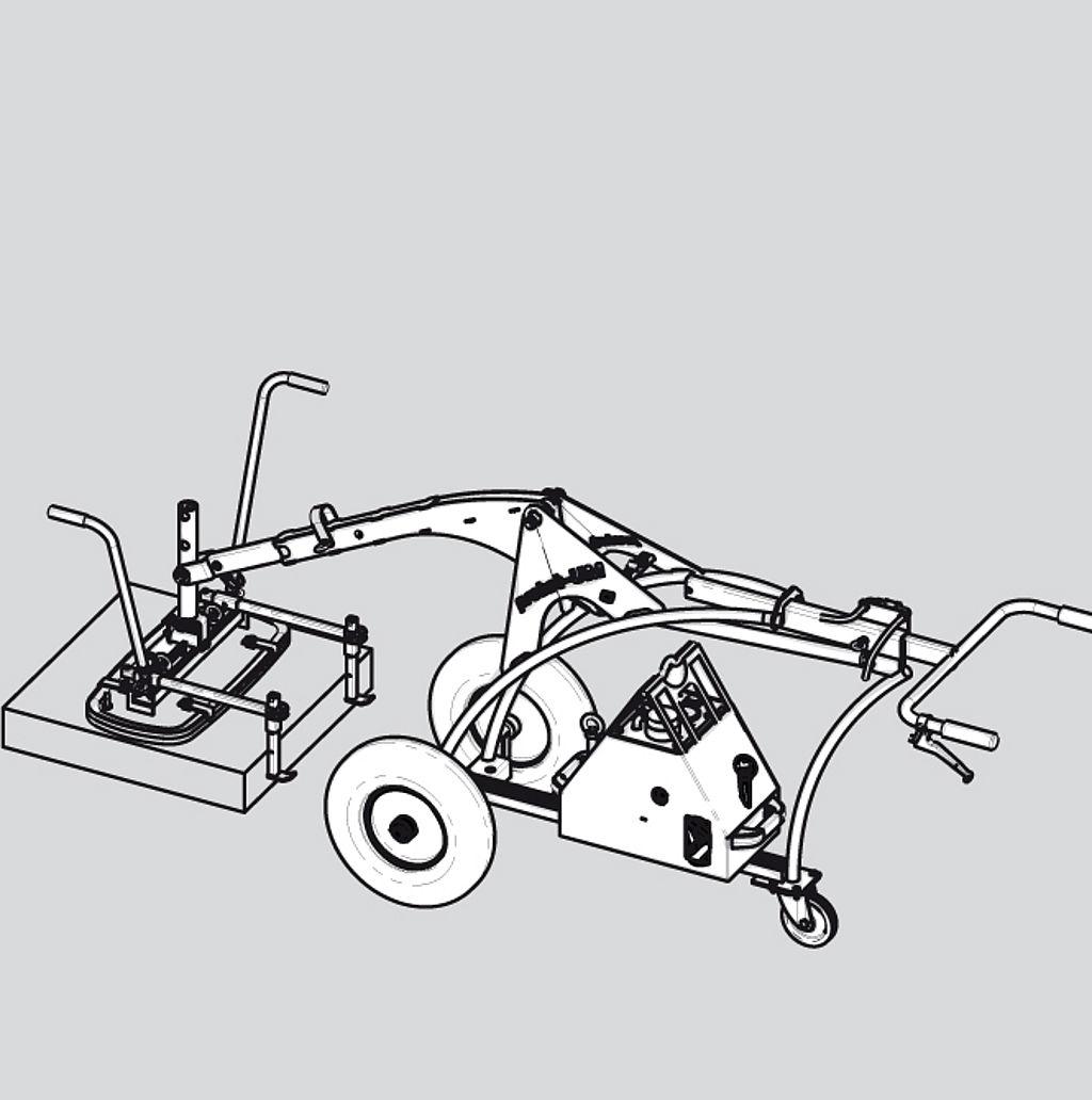 Instalatie pentru montaj dale UNI MOBIL UM-SM – varianta basic