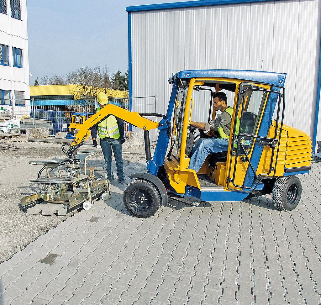 Masina de montat pavele VM 401