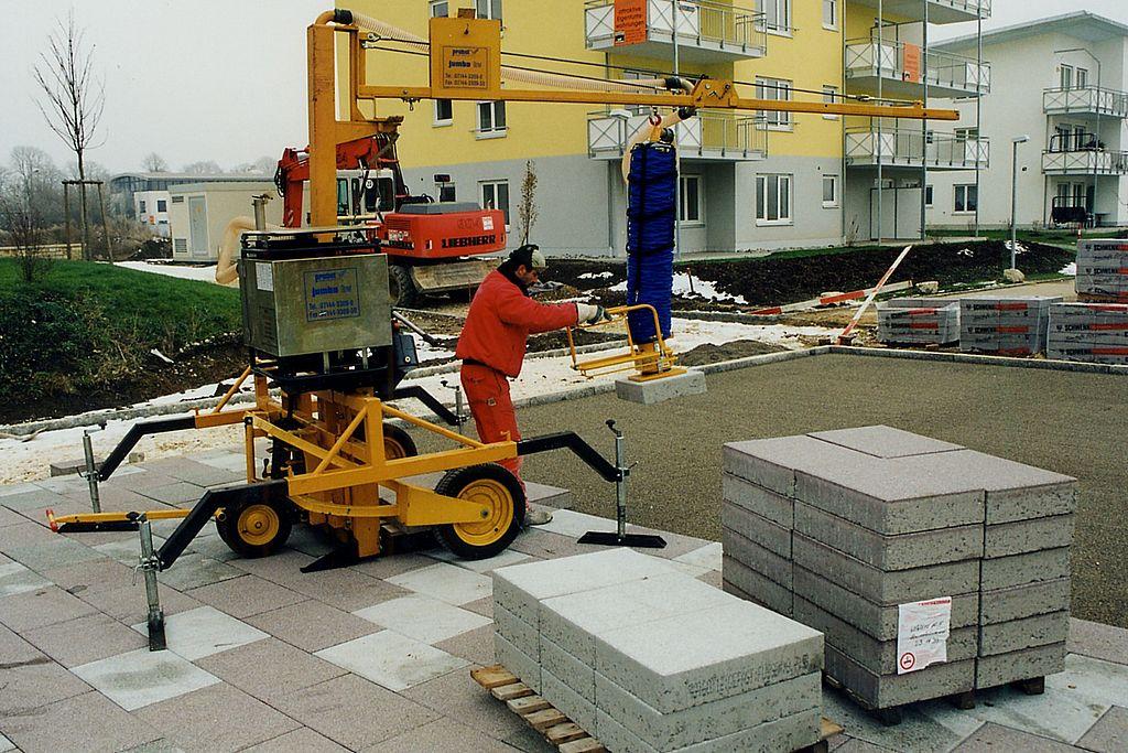 Instalatie pentru montaj dale ZA-BV-MOBIL