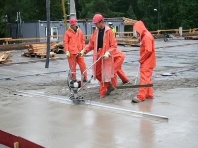 Echipamente vibrare/finisare beton