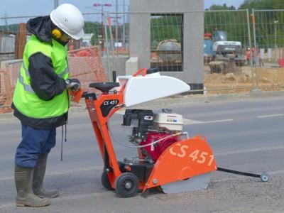 Masini de taiat beton asfalt