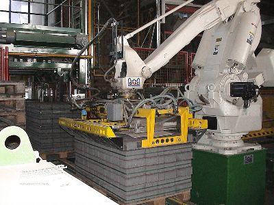 Tehnologie de manipulare pentru fabrici complet automatizate