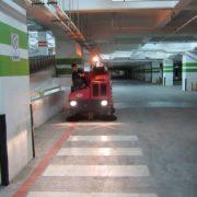 masina de curatat parcare subterana